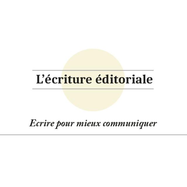 Logo écriture éditoriale